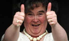 Susan Boyle faces final hurdle in dreamlike rise