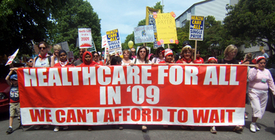Anti-union, anti-gov't group takes aim at public health plan