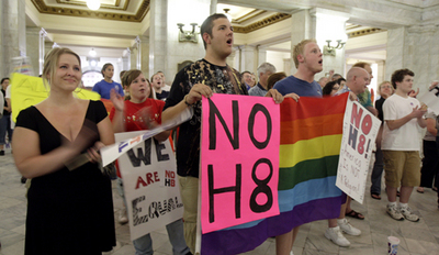 Activists vow struggle after Prop. 8 ruling