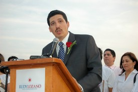 Lozano launches bid for state office