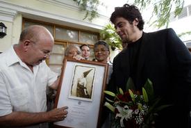 Benicio del Toro awarded Tomas Gutierrez Alea Prize