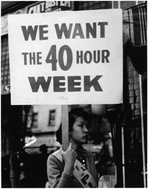 Today in labor history: The 40-hour workweek