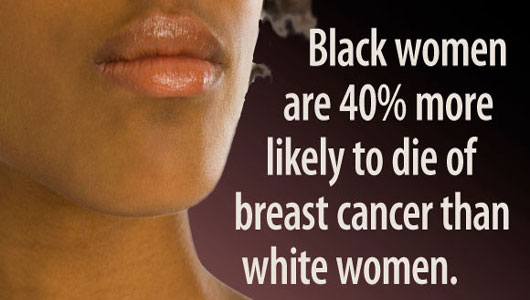 Racial discrimination leads to increased deaths of black women from breast cancer
