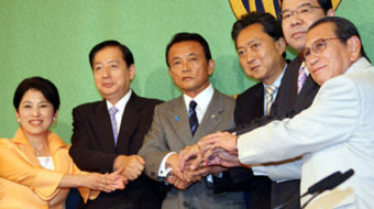Japan's voters sweep out ruling party