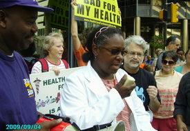Philadelphians demand health care for all