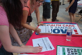 Ohio demands health care now!