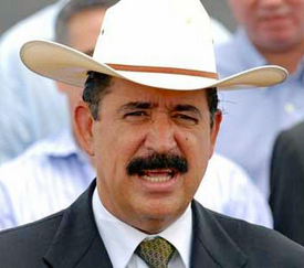 Breaking News: Honduran President Zelaya back in country