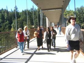 New bridge symbolizes river's rebirth