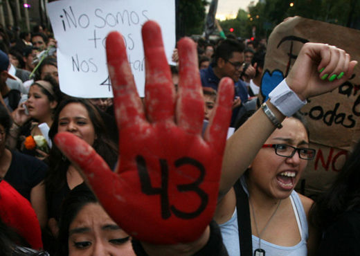 Mexico's federal police responsible for slaughter of student teachers?
