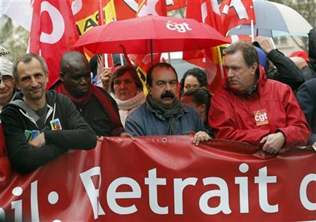 France rising up against so-called labor law reform