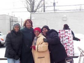 Detroit labor unites for food basket giveaway