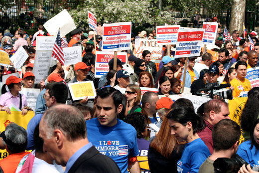 Supporting immigrants' rights is not political suicide
