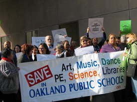 Oakland teachers encouraged by fact finders report