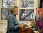 The World of Peggy Lipschutz: Women, workers, angels  soul of her purposeful art