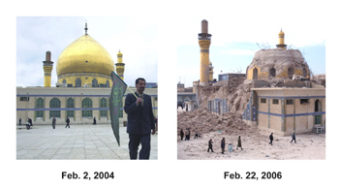 Golden mosque blast brings new Iraq crisis