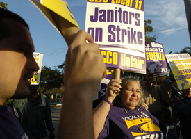 Sunshine State janitors fight for a living wage