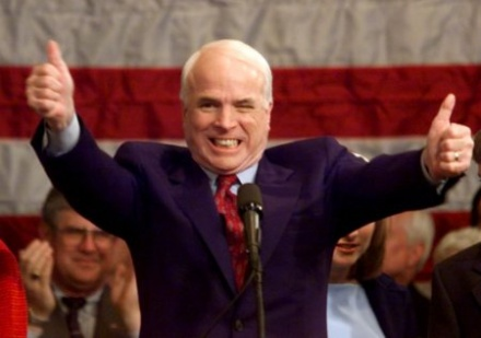 McCain wins White House!