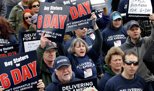 In about-face, lawmakers uphold Saturday mail delivery