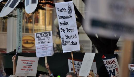 Senate committee passes health bill