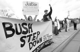 Calls mount for censure or impeachment of Bush