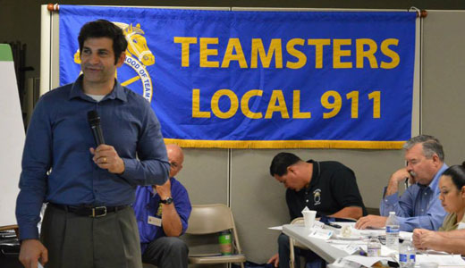 "Teamsters score big organizing gains, go ""kosher"" too!"