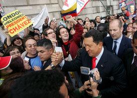 Venezuelas revolution reaches across continents