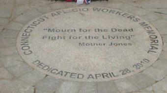 Workers memorial dedicated in Hartford