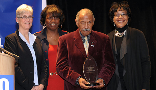 Michigan's John Conyers: Tireless champion for jobs and voting rights