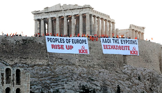 May Day message from the Acropolis