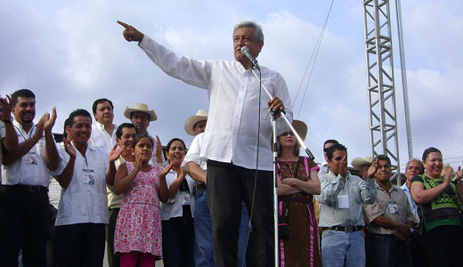 Struggle over elections continues in Mexico