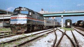 Writing on Amtrak