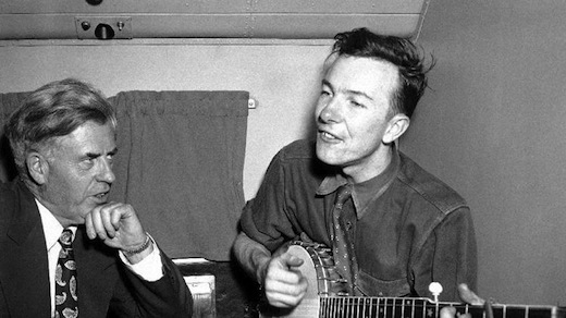 1948: Pete Seeger and Henry Wallace