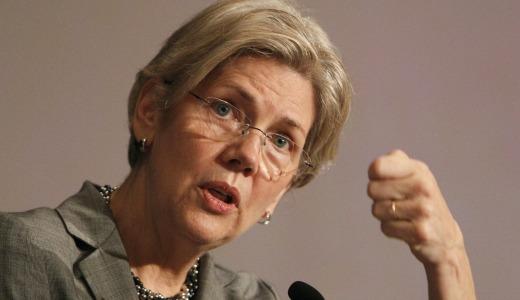 Elizabeth Warren falls on her sword