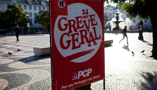 General strike shuts down Portugal