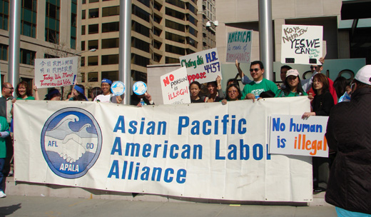 Unions benefit Asian Pacific American workers
