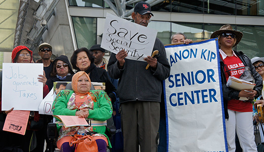 Social Security victory shows organizing is the way