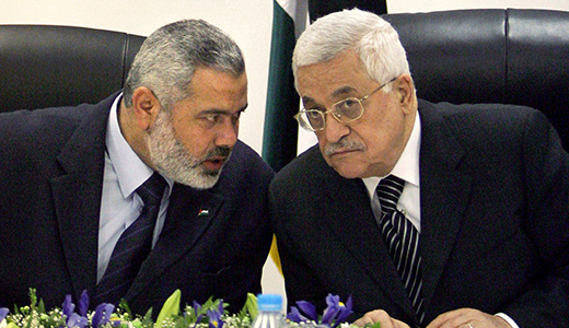 Palestinians sign unity pact