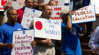Labor mobilizes in congressional districts in August