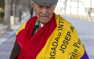 Spanish Civil War vet Almudever is as lively as ever at 95