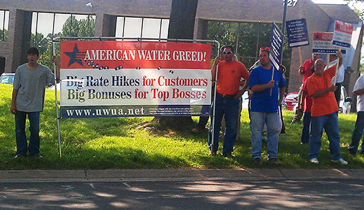 """Greed on steroids"" at Missouri water company"