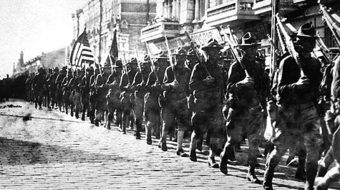Today in labor history: U.S. tries to overthrow workers' government in Russia