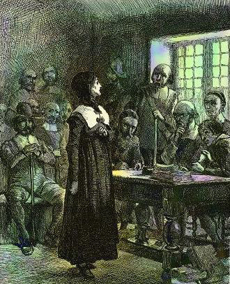 Today in women's history: Anne Hutchinson banned from Bay Colony