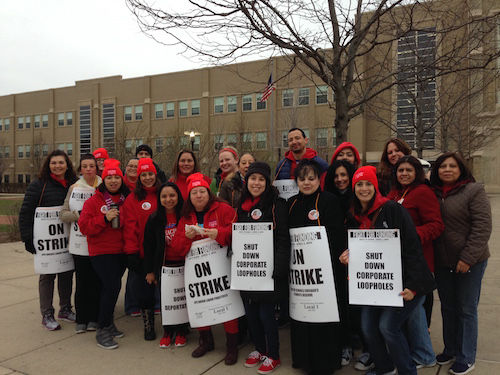 Chicago teachers strike puts focus on Rauner, state budget crisis