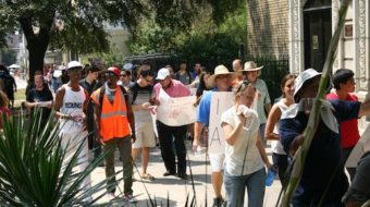 """Fight for 15 marchers rally in """"right-to-work"""" Texas"""