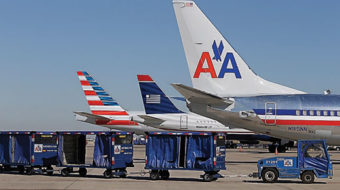 American Airlines unions join pro-airline merger ad drive