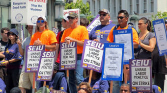 San Francisco transit workers out on strike
