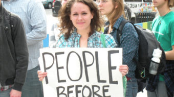 Tired of bank greed, Missouri protesters say