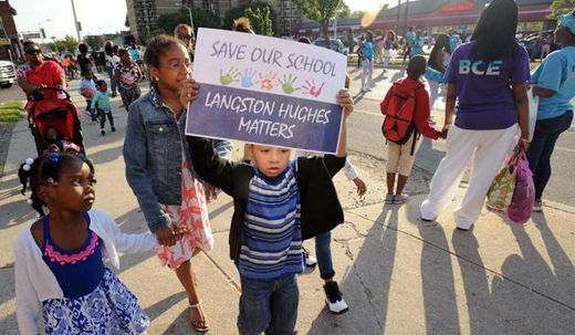 Baltimore: A new generation of protestors comes into being