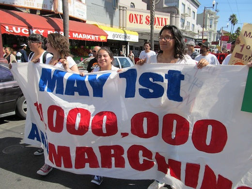 U.S.A. May Day: We are Chinese, Arab, Filipino, Latino…all people, together