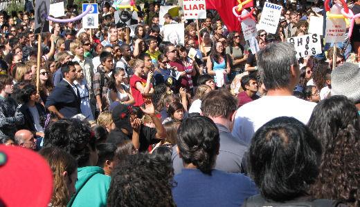 Berkeley campus heats up